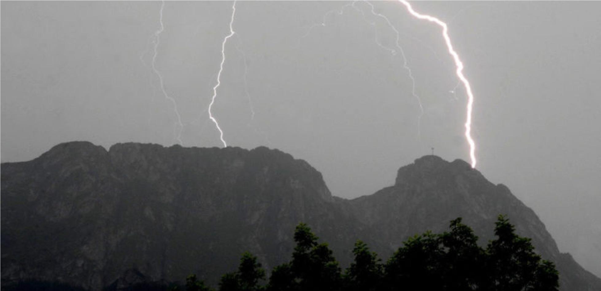 Burza w Tatrach - 21.08.2019