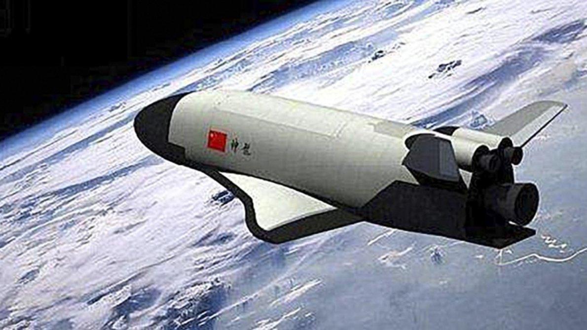 Chiny. Statek kosmiczny.