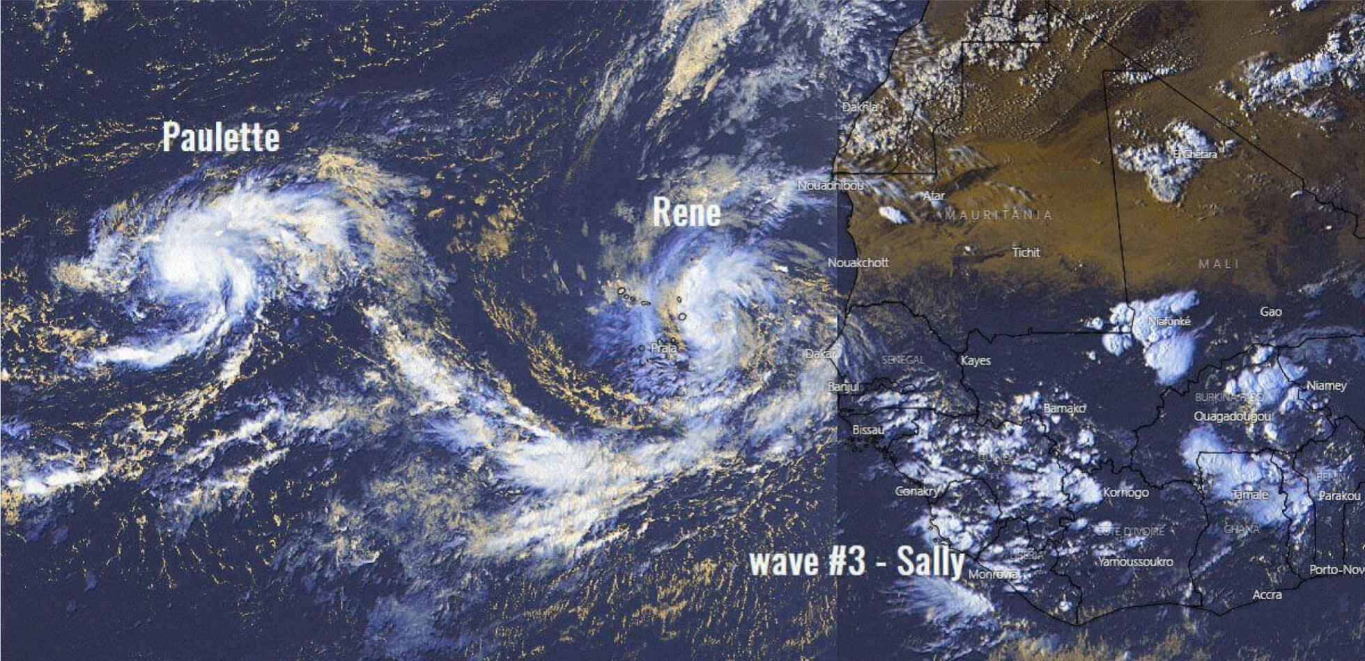 Atlantyk. Powstają kolejne potencjalnie groźne burze.