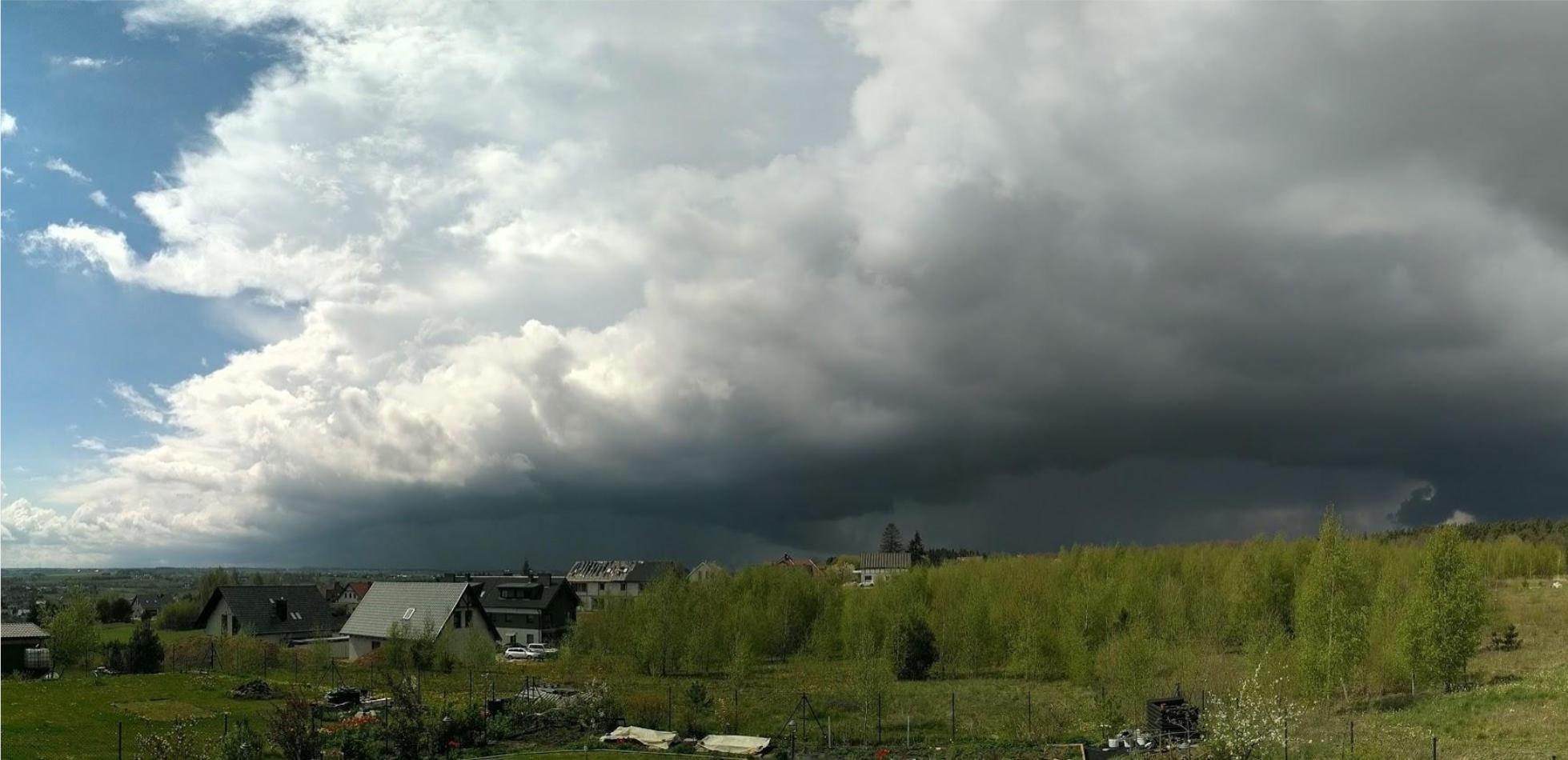 gwałtowna pogoda w Europie