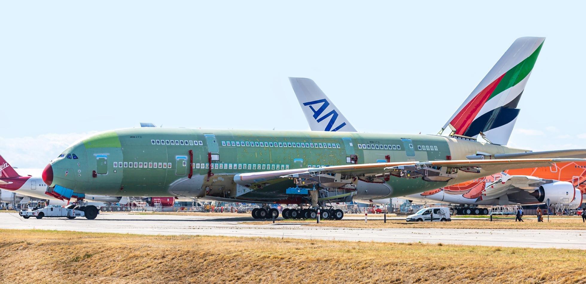 ostatni A380
