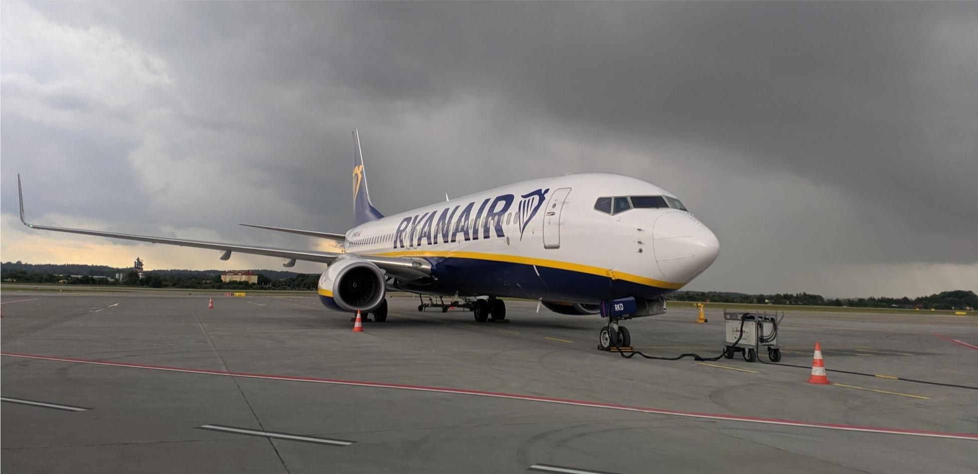 Ryanair koronawirus