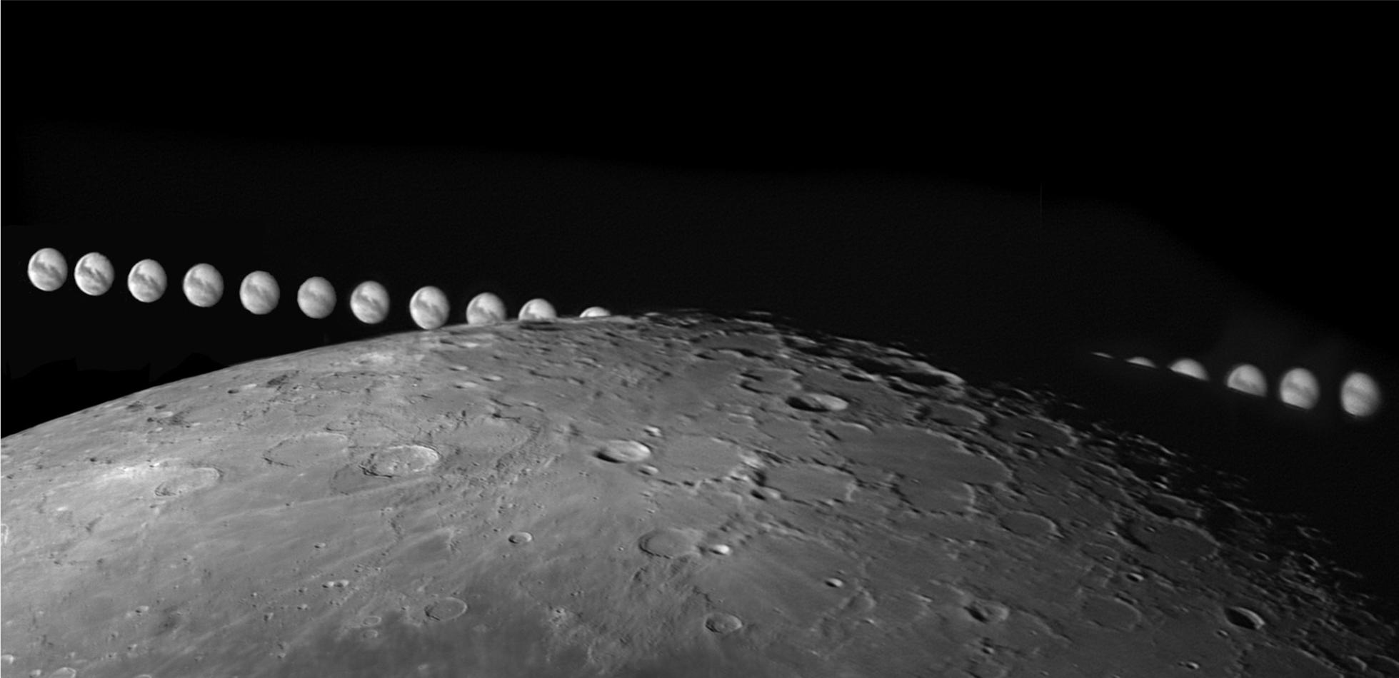 Okultacja Marsa przez Księżyc
