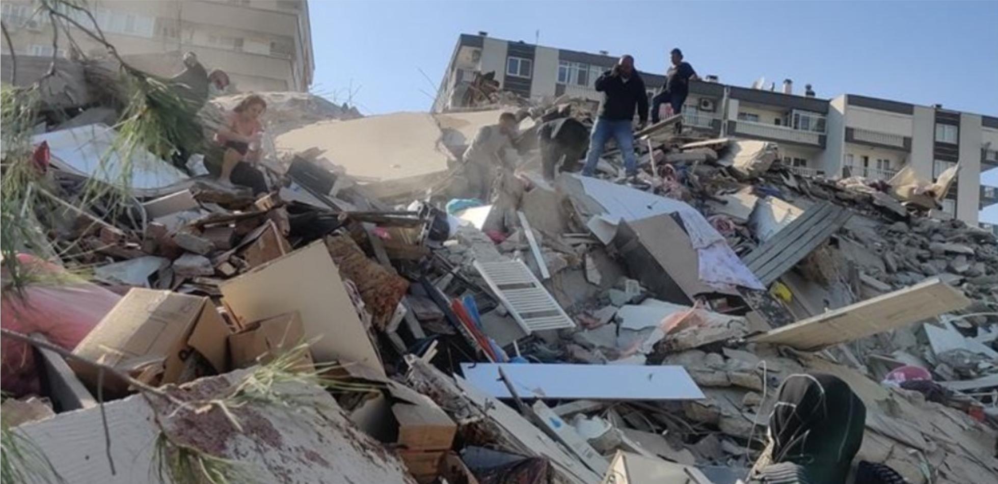 bilans ofiar po trzęsieniu ziemi koło Izmiru