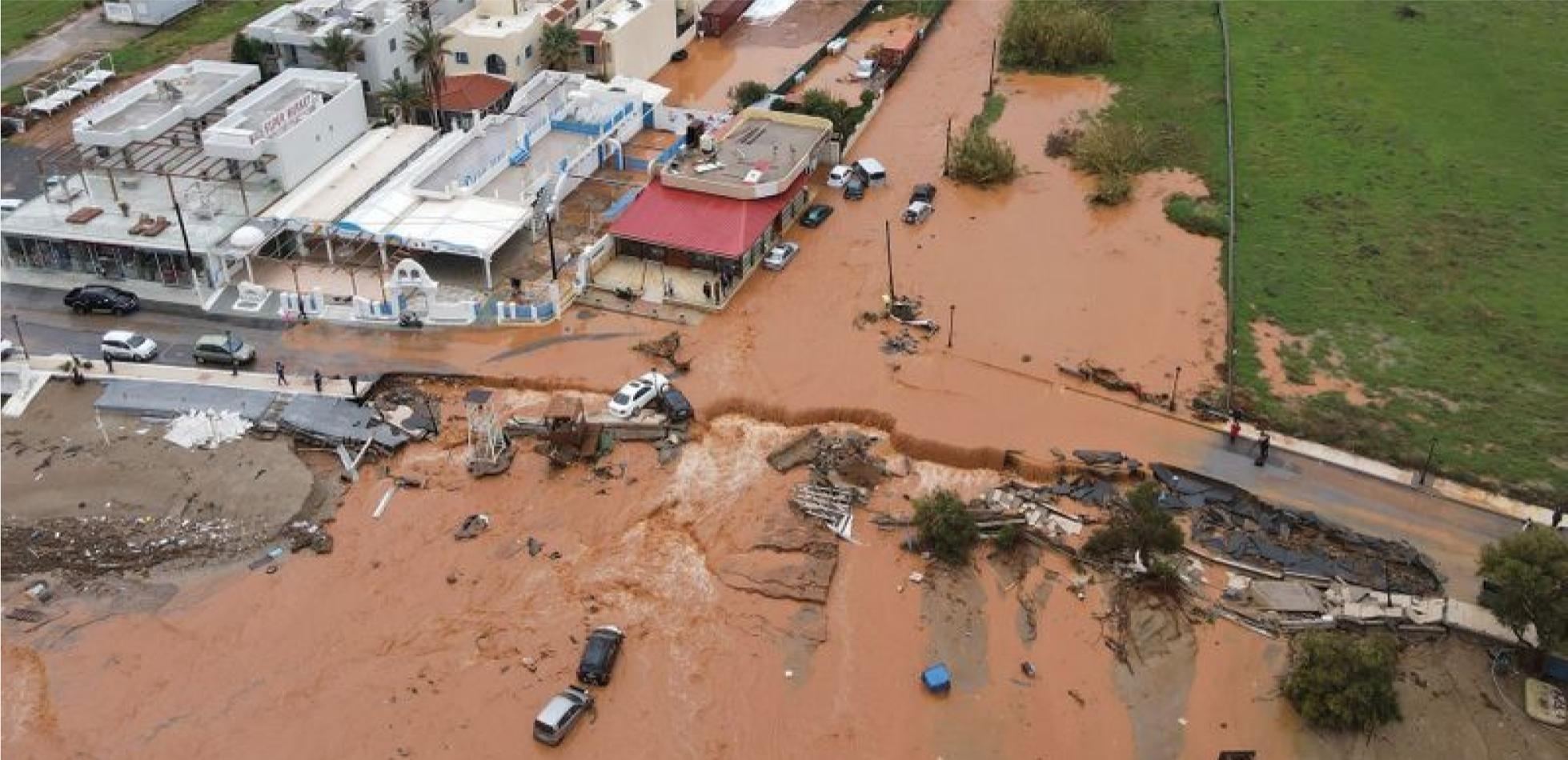 powódź Kreta