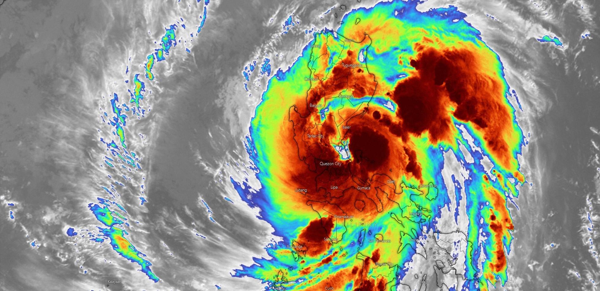 Filipiny tajfun Vamco