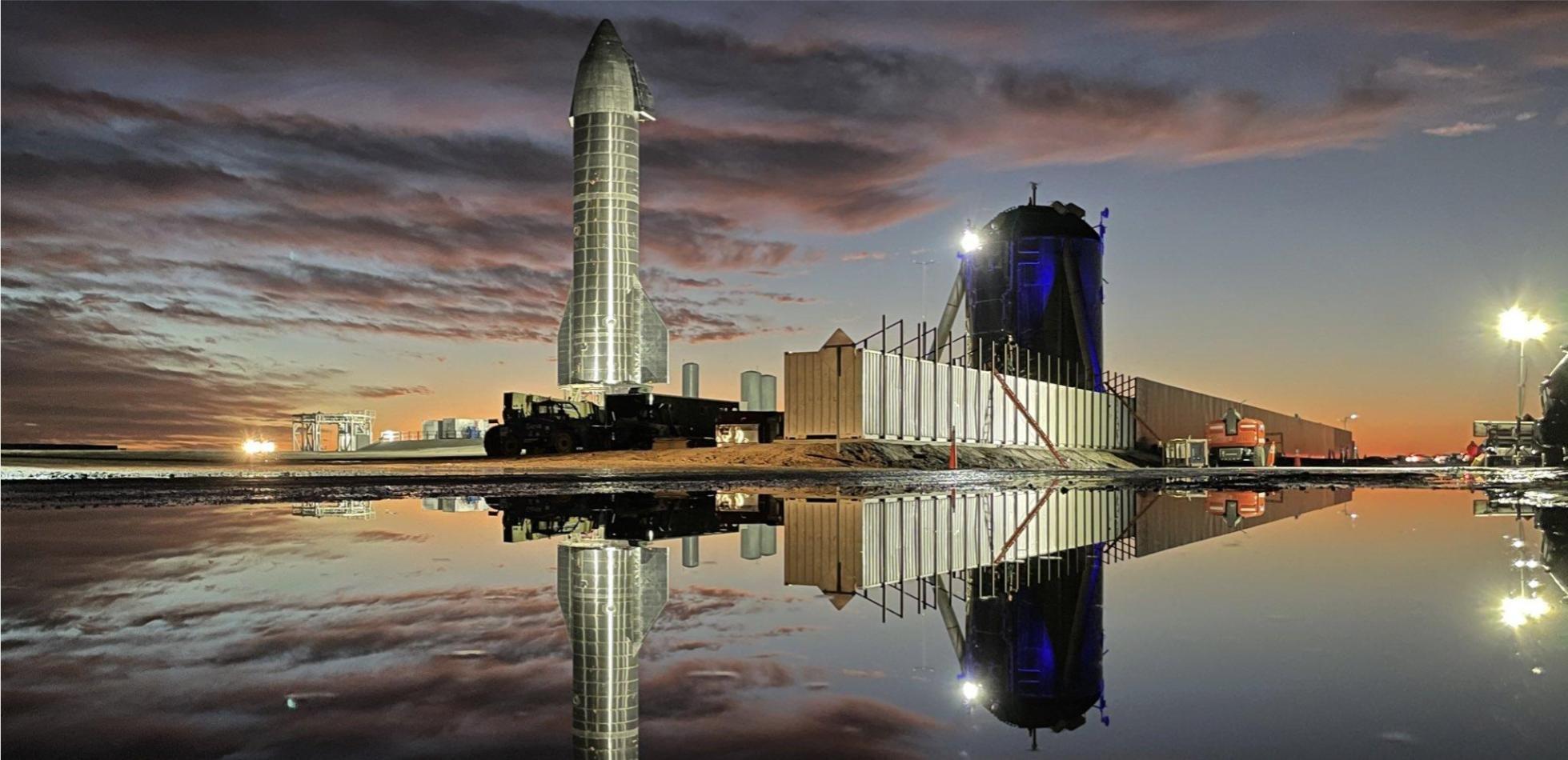 Dziś testowy lot statku SpaceX Starship SN8