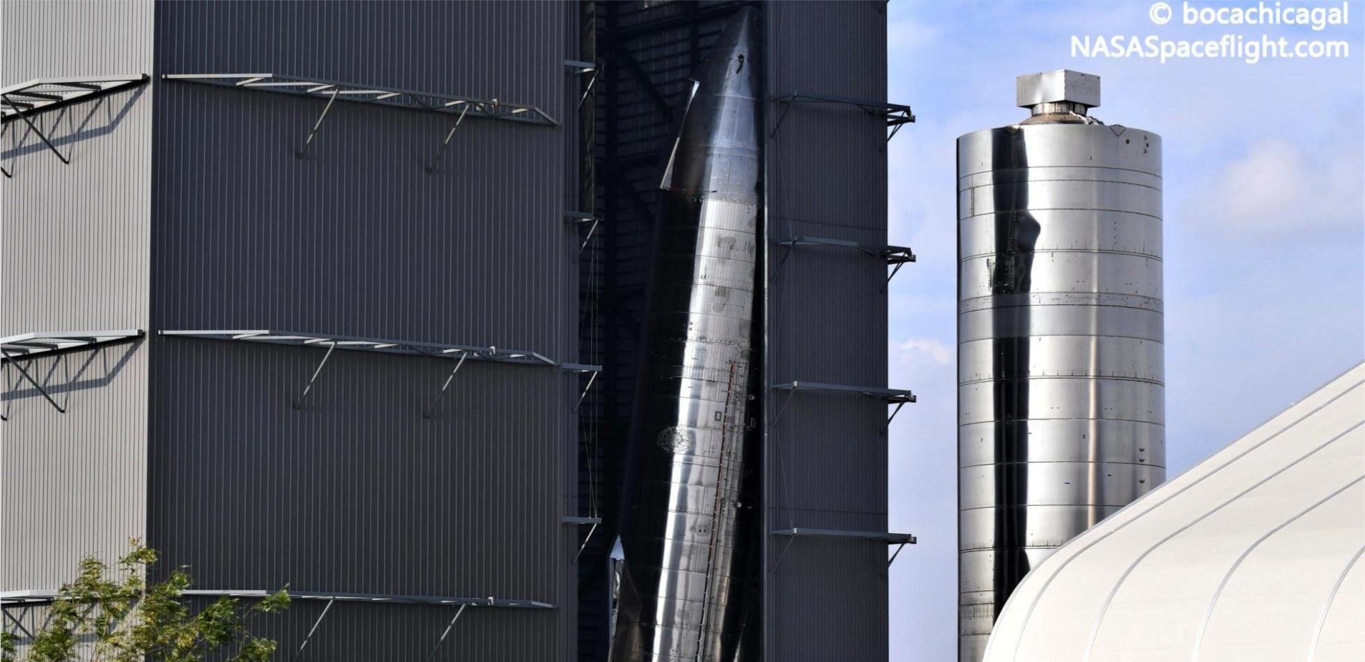 Prawie gotowy Starship SN9 uszkodzony. Czy poleci?