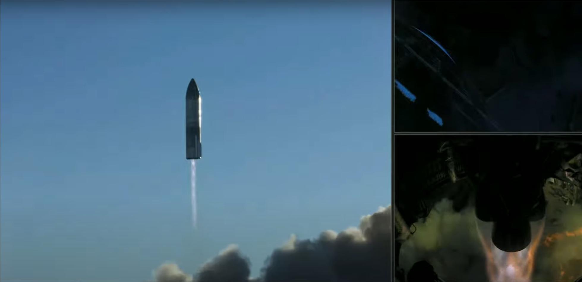 Historyczny sukces SpaceX. Starship wzbił się w powietrze