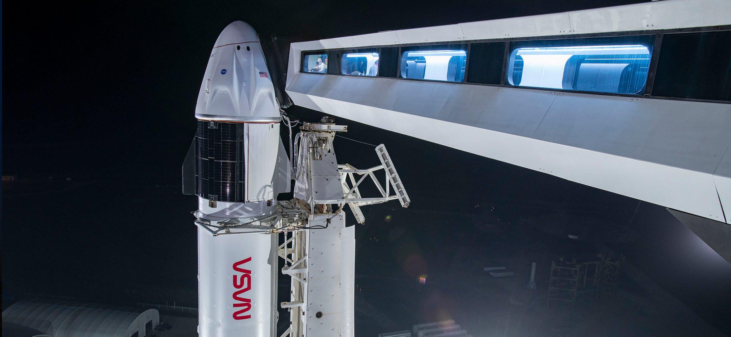 Start misji załogowej SpaceX Crew-2