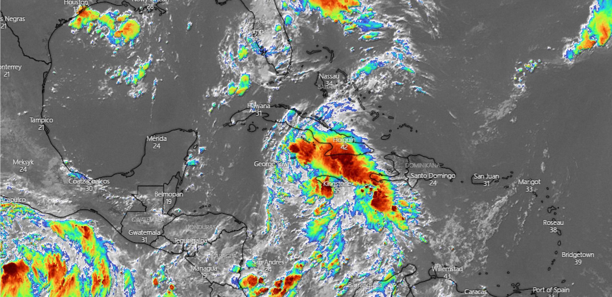 W Zatoce Meksykańskiej może powstać silny huragan