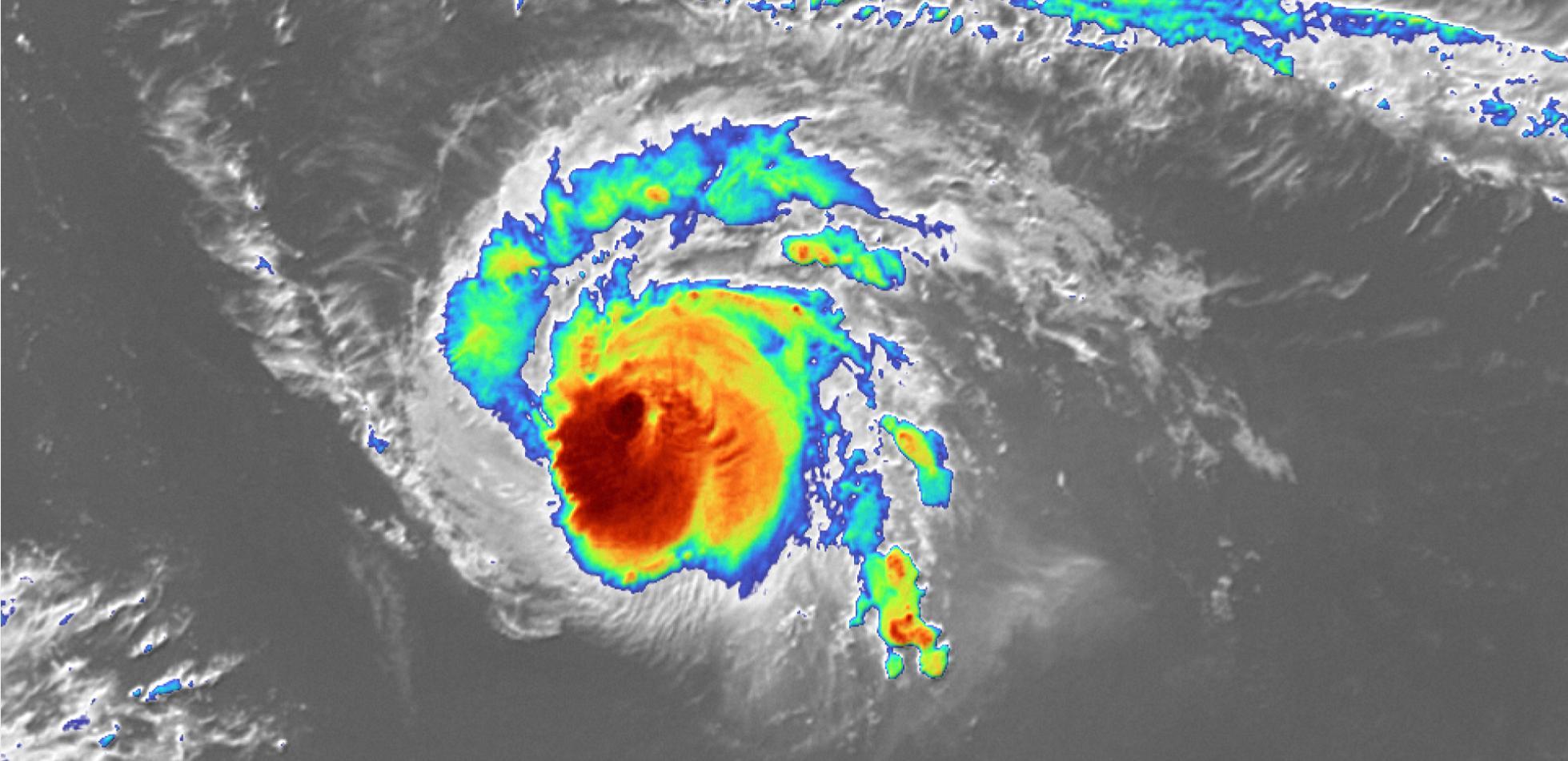 SAM kolejnym silnym huraganem w sezonie 2021