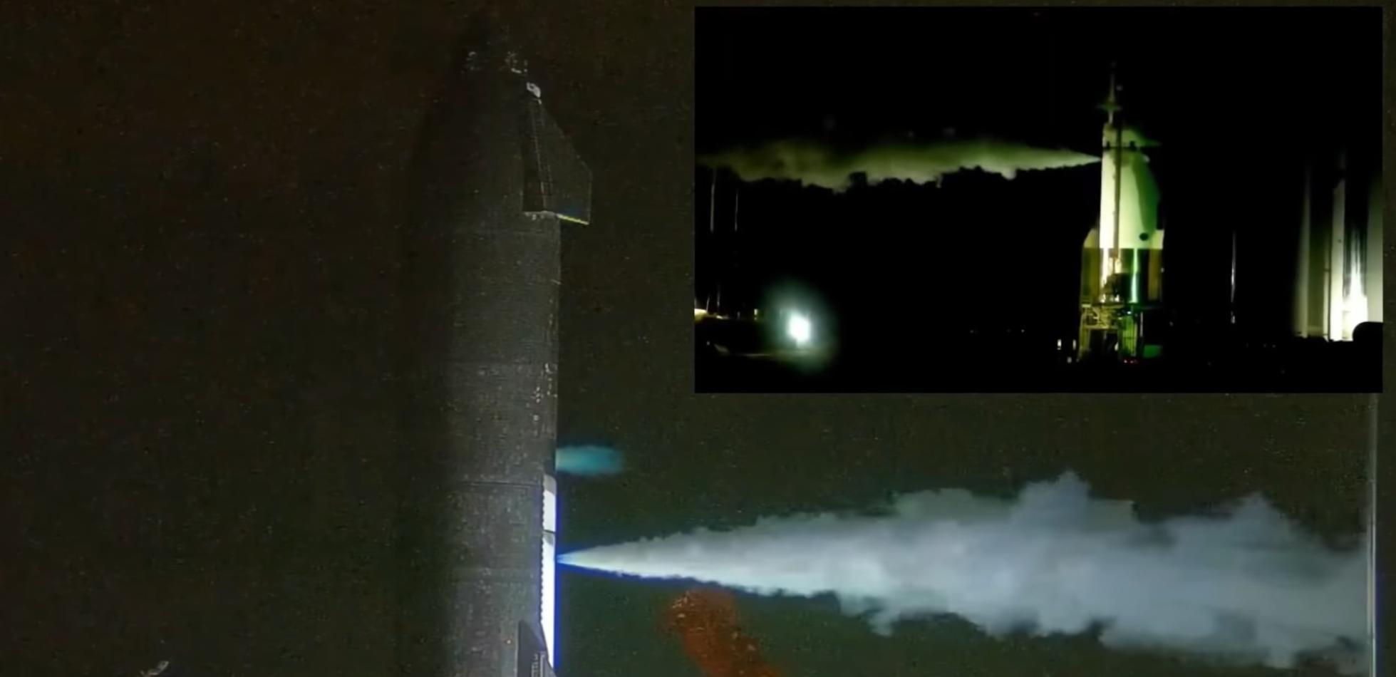 Starship S20 rozpoczął testy